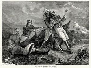 Death of Rollo Gillespie
