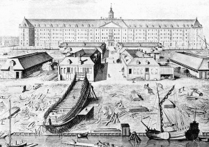 VOC op Oostenburg in Amsterdam